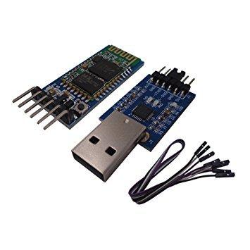 DSD TECH HC-05 Kit módulo Bluetooth CP2102 Convertidor