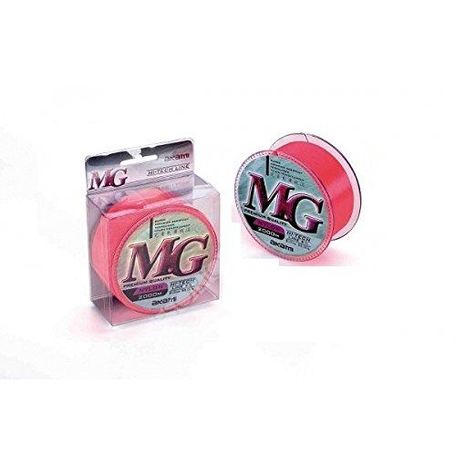 Akami MG Line Nylon Pink Monofile Angelschnur 300M 0,1855,90kg