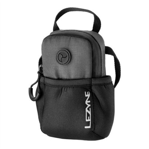 Lezyne Phone Caddy Handy Fahrrad Tasche wasserabweisend mit Neopren, PCCADDYV1, Farbe grau Smartphone-caddy
