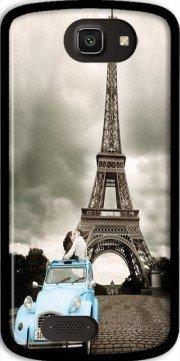 MOBILINNOV Archos 50 Cesium Romance à Paris Sous la Tour Eiffel Silikon Hülle Handyhülle Schutzhülle - Zubehor Etui Smartphone Archos 50 Cesium Accessoires
