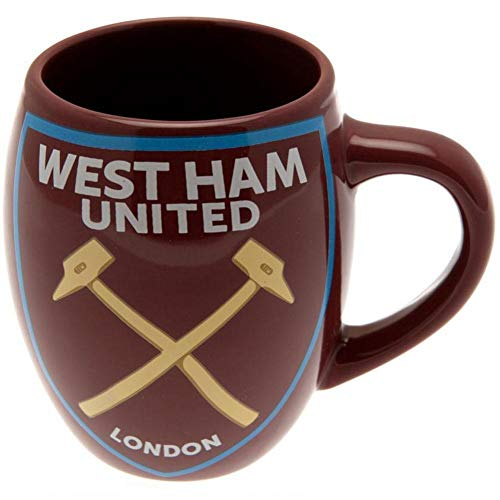 West Ham United Football Club Tea Tub Mug 19oz Claret Boxed Fan Official Product West Ham United Football Club