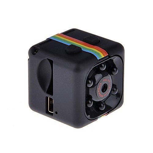 VANKER Mini cámara HD 1080P nocturna Vision Videocámara