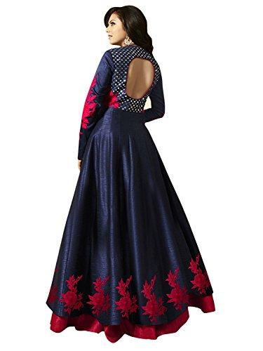 Royal Export Women's Bangalori Silk Party Wear Gown