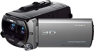 Sony HDR-TD10E Full HD Camcorder (12-fach optischer Zoom (2D)/10-fach-Zoom (3D), 64 GB interner Speicher, 30 mm Weitwinkel, 8,9 cm (3.5 Zoll) Display) silber