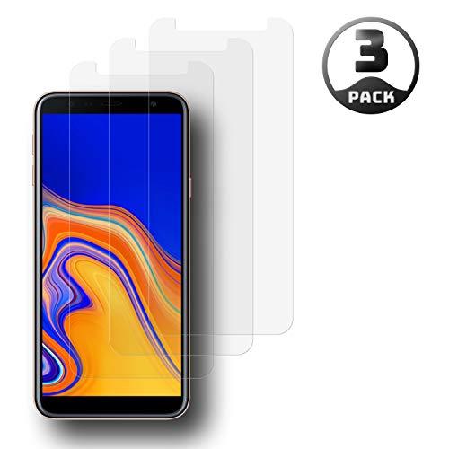 Aribest Galaxy J4 Plus J6 Plus Panzerglas Schutzfolie,2 Stück Panzerglasfolie für Samsung Galaxy J4 Plus/J6 Plus 2018 Panzerglas 9H Härte,Anti-Öl,Anti-Bläschen,Anti-Kratzen,3D Touch Kompatibel