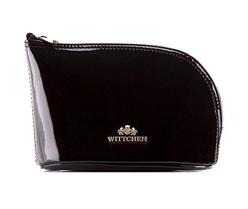 Wittchen Vanity   Couleur: Noir   Cuir verni   La taille (cm): 12 x Largeur (cm): 18   Collection: Verona   25-3-275-1
