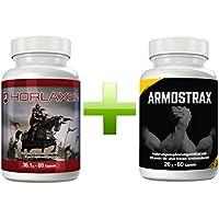 Horlaxen und Armostrax Doppelpaket   Potentierter Muskelwachstum und Fettabbau mit dieser Kombo