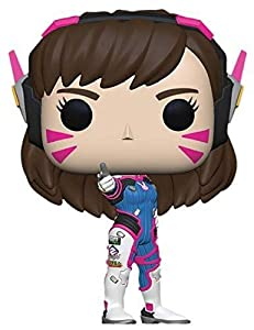 Funko- Pop Vinilo: Overwatch S5: D.Va Figura Coleccionable, Multicolor (37433)