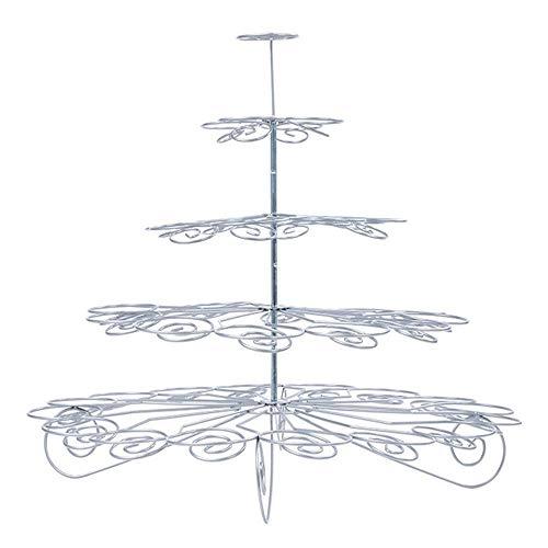 Baoffs-hosta Lebensmittel Display Cupcake Stand 5-Tier Cupcake Stand Haushaltswaren Tiered Party Display Kuchen Steht, Mini Cupcakes Tower Holder Tree für Geburtstag Hochzeit Festival Dekoration
