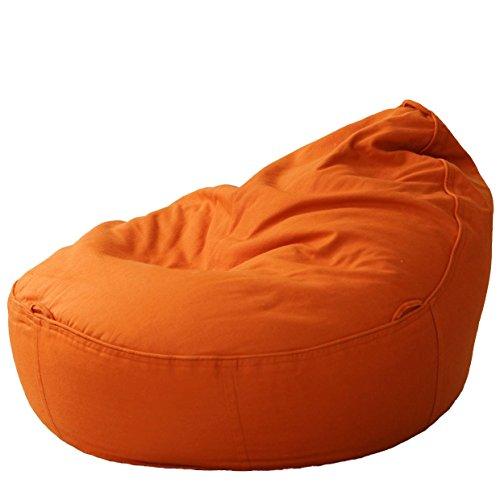 Ökologischer Baby-Sitzsack Baby EcoEgg® - hochwertiger Liegesack Liegekissen Sitzkissen für Babys (terracotta)
