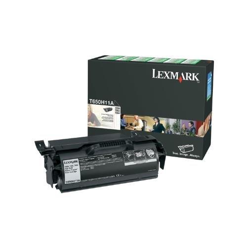 Lexmark t650h11a OEM Toner-T650T652T654T656Serie hohe Kapazität RETURN PROGRAM TONER (25000Ergiebigkeit) OEM -