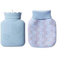 SJZC WäRmflasche Heizung HandwäRmer Kinder Warm Hand Mini Wolle Silikon Wasserbeutel preisvergleich bei billige-tabletten.eu