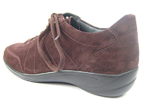 Semler B6115-041-068, Scarpe stringate donna Rot