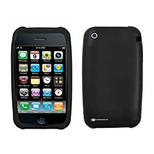 iPhone 3G 3GS Etui en Silicone (Housse de Protection) - Noir