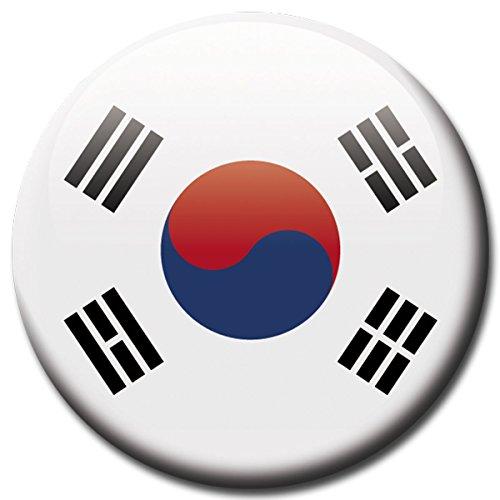 lagge Süd Korea Magnet Länder Flaggen Reise Souvenir für Kühlschrank stark groß 50 mm ()