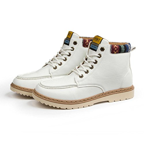 Autunno Casual Shoes Up Scarpe SOMESUN Shoes Sport Stivali Outdoor Martin Top Casual High Lace White Uomini Mens AfqXzz