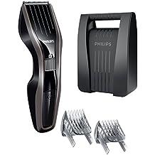 Philips HC5438/80 - Cortapelos con cuchillas de acero inoxidable y tecnología Dual Cut, incluye peine barbero y estuche de almacenamiento