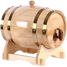 DM Barril de Vino de Roble, decoración del hogar Barril Barril de Cerveza de Roble