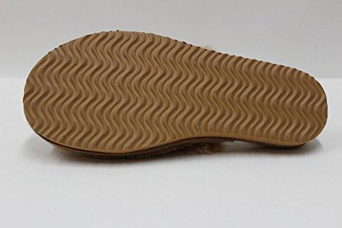 Furfurmouton, Pantofole uomo Chestnut