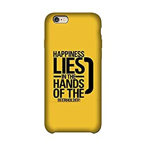 Wrapit Food&booze Happiness Lies In The hands Hard Back Case Cover For Apple Iphone 6/6s