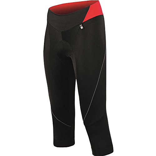 Santini Fashion Mearsey Bib Shorts schwarz schwarz/red M (Team Shorts Pro Bib)