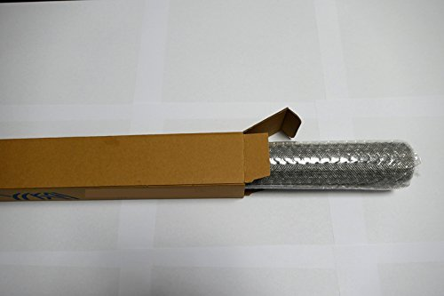 Geflochtenem Draht 10 Mesh 30 cm x 60 cm x2 mm grob, Gaze Edelstahl 304L 61% Offene Bereich Mesh 10