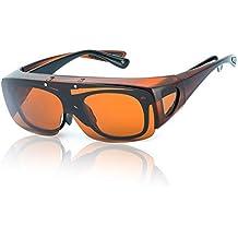 gafas de sol graduadas - Marrón - Amazon.es