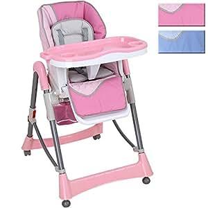 infantastic chaise haute pour enfants morning rose rose capacit de charge max 14 kg. Black Bedroom Furniture Sets. Home Design Ideas