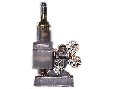YANFEI Casier à vin Casier à vin bois maison American rétro projecteur détient Bottls de vos étagères de présentation créative vins préférés
