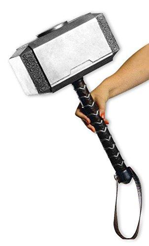 America Captain Baby Kostüm - Close Up Marvel Thor's Hammer Mjölnir, für Erwachsene