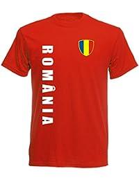 Rumänien nr.10 rot BABY - T-Shirt Trikot 92 98 104 116 - EM 2016 -