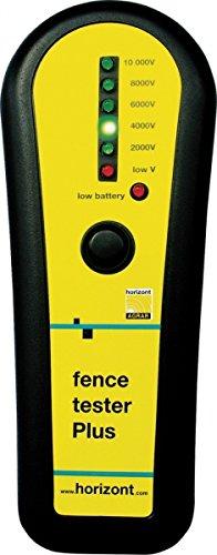 """Zaunprüfer """"fence tester Plus"""" zur Spannungskontrolle von Weide- / Elektrozäunen, Messgerät ohne Erdung"""