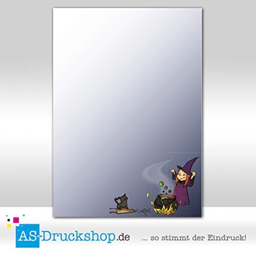 Designpapier Halloween - Hexenküche / 100 Blatt/DIN A4 / 90 g-Offsetpapier