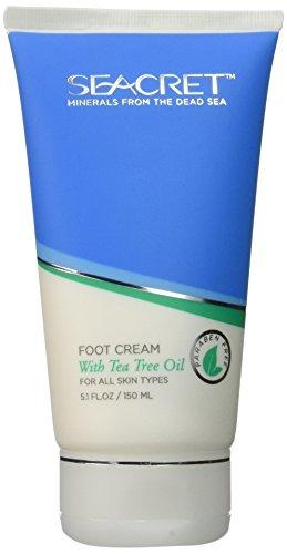 Seacret Foot Cream with Tea Tree Oil (5.1floz/ 150ml)
