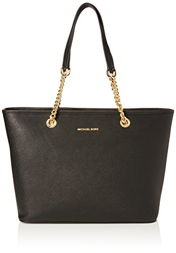 MICHAEL KORS Borsa Tote Jet Set Travel Nero (30T6GJ8T6L001 Black)