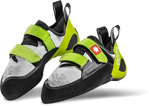Ocun Jett QC Climbing Shoes Yellow/Grey Schuhgröße UK 5,5 | EU 38,5 2018 Kletterschuhe