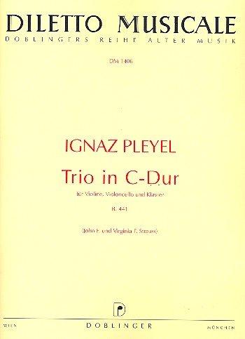 TRIO EN C MAYOR (B 441)