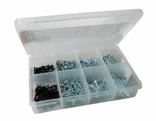 Connex DP8500030 Nägel und Stifte-Sortimentskasten, 750- teilig