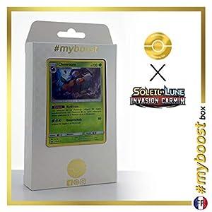 Chevroum (Skiddo) 11/111 Holo - #myboost X Soleil & Lune 4 Invasion Carmin - Box de 10 Cartas Pokémon Francés