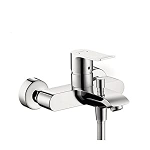 Hansgrohe 31480000 Metris grifo de bañera visto, cromo