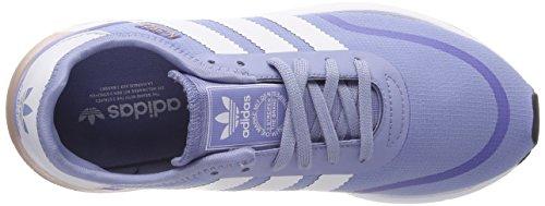 adidas Damen Iniki Runner CLS Laufschuhe Blau (Chalk Blue S18/ftwr White/ftwr White)