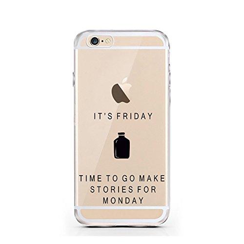 iPhone 7 Hülle von licaso® für das Apple iPhone 7 aus TPU Silikon Can't Stop thinking about it - BUY it Fashion Design Muster ultra-dünn schützt Dein iPhone 7 & ist stylisch Case Design Schutzhülle Bu Stories for Monday