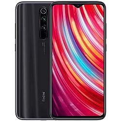 """Xiaomi Redmi Note 8 Pro Teléfono 6GB RAM + 128GB ROM, Pantalla Completa de 6.53"""", CPU MTK Helio G90T Octa-Core, 20MP Frontal y 64MP AI Cuatro Cámara Trasera Móviles Versión Global (Gris)"""