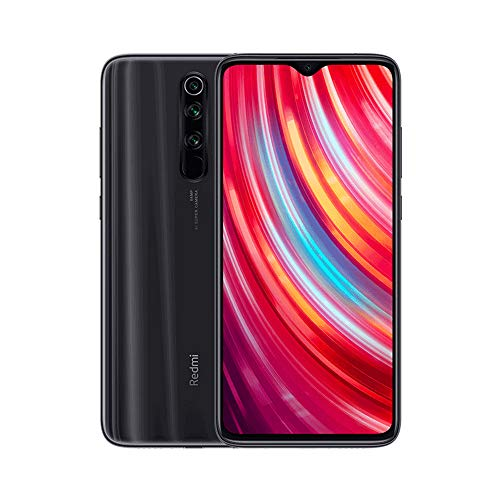 Xiaomi Redmi Note 8 Pro Phone 6GB RAM + 128 GB ROM, 6.53'Full Screen, Helio G90T Octa-Core MTK CPU, 20MP Front e 64MP AI Four Mobile Camera Camera Posteriore Versione Globale (Grigio)