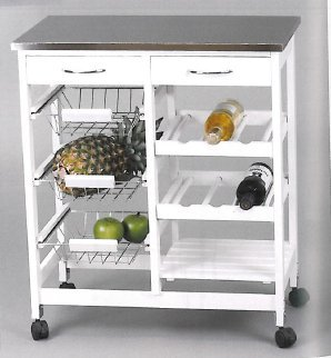 Kit Closet Carro Cocina, Metal