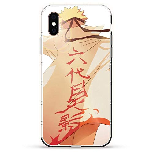 Iphone Silicon Protector (BEMAGIC iPhone XS Max Case,Flexible Slim Silicone TPU Protector Cover Soft Thin Gel Skin for Apple iPhone XS Max-Uzumaki Naruto 7)