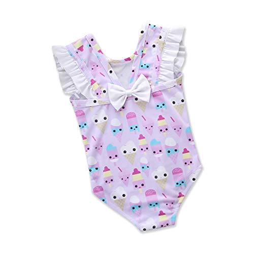 Sanahy Mädchen Badeanzug einteiliges EIS Bedruckt 0-3 Jahre -
