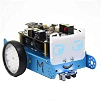 BALALA BIAN Solar Panel Epoxy LED Matrix 8x16 for mBot Robot with 128 Blue LEDs Support Programming