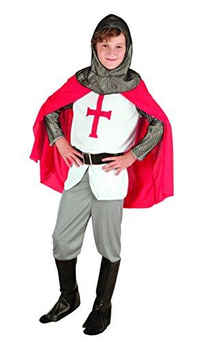 Kleine Edle Kostüm Krieger - Boland 82131 Karnevalskostüm, weiß, 140