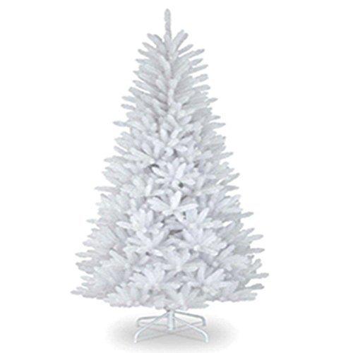 1,5m Weihnachtsbaum Imperial Weiß Künstlicher Baum 390Spitzen mit Metall Ständer